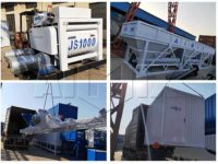 Бетонный завод 50 м3/час был направлен в Таджикистан