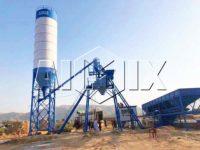 Бетонный завод 25 м3/ч установлен в Пакистане