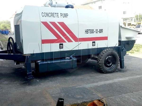 Прицепной бетононасос HBTS50-12-80R