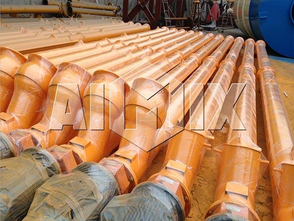 Шнек - стационарный бетонный завод