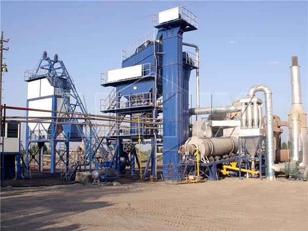 Стационарный асфальтный завод из Китая в Узбекистане