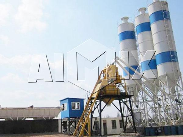 бетоносмесительная установка AIMIX