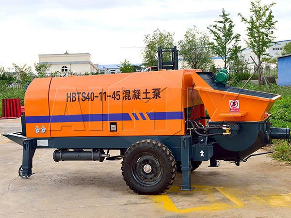 Электрический бетононасос прицепной HBTS40-13-45