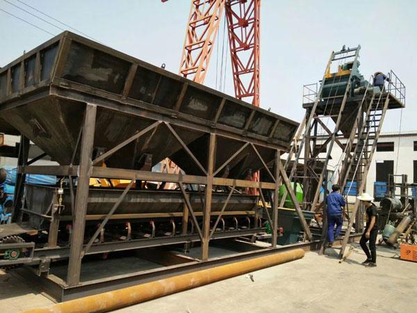 мобильная бетонная установка YHZS25 была отправлена на Узбекистан