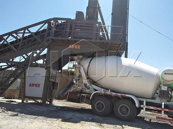 Мобильный бетонный завод на ташкенте