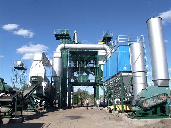 Стационарный асфальтовый завод в Казахстане