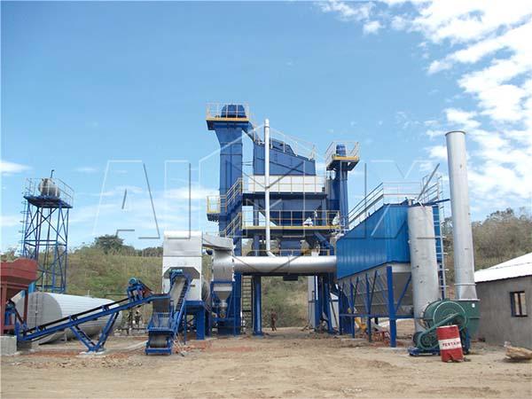 высококачественный стационарный асфальтовый завод