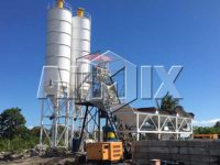 AIMIX бетоносмесительная установка 50 м3/ч на Филиппинах