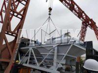 Стационарный бетонный завод был отправлен в Бангладеш