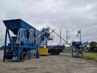 Передвижной бетонный завод 35 м3/ч на Филиппинах