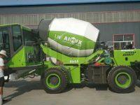 AIMIX бетоносмеситель с самозагрузкой 3,5 кубов в Малайзию