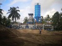 Бангладеш: стационарный бетонный завод 50 м3/ч