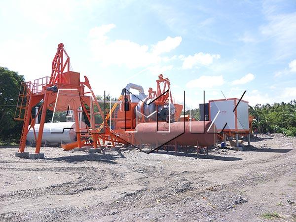 Мобильный асфальтный завод 60 тонн в час