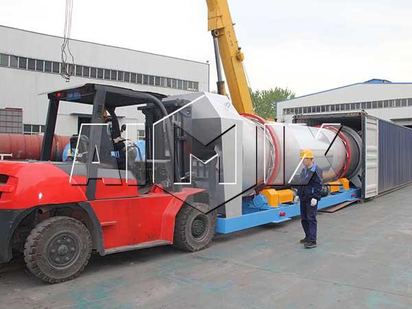 Стационаный асфальтобетонный завод 100 тонн в час в Индонезию