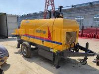 Малайзия: Бетононасос прицепной 40 м3/ч был отправлен в Малайзию