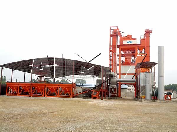 Стационарный асфальтовый завод 100 тонн в час