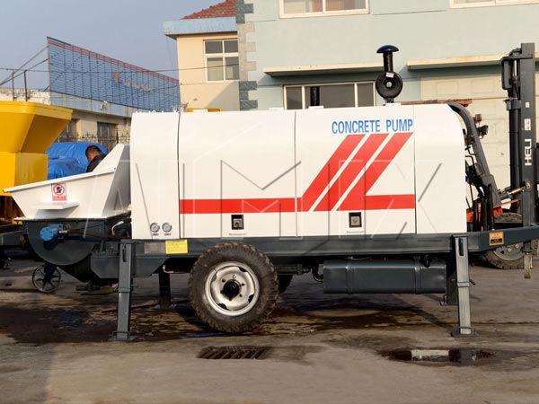 Стационарный бетононасос дизельный