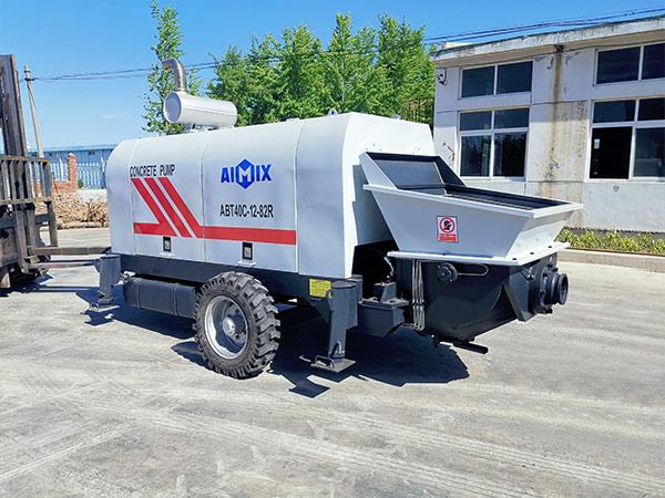 Дизельный прицепной бетононасос 40 м3/ч