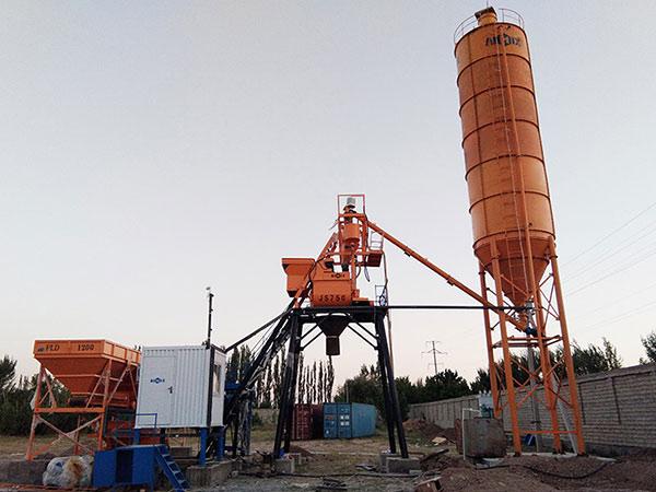 Хороший мини бетонный завод