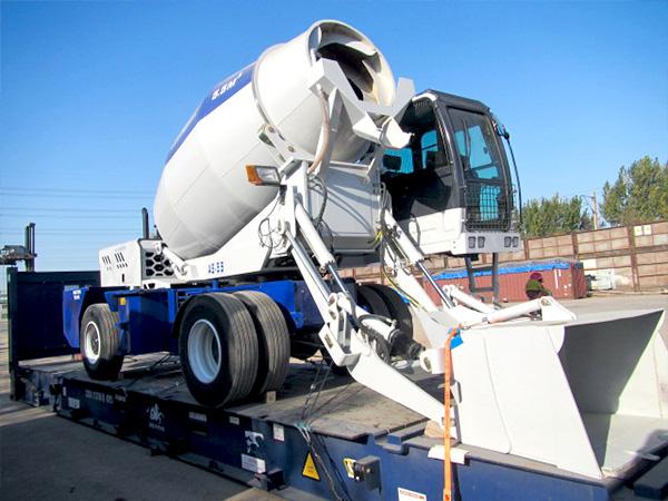 Купить бетоносмеситель с самозагрузкой из Китая