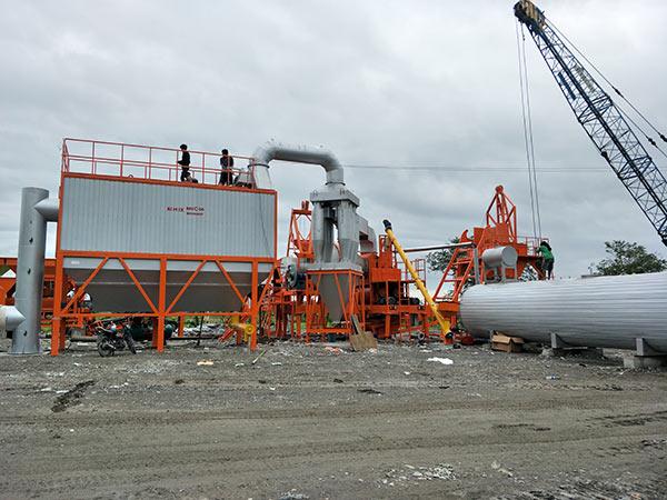 Мини асфальтный завод 60 т/ч на Филиппинах