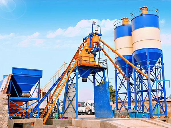Мини бетонный завод в Мьянме