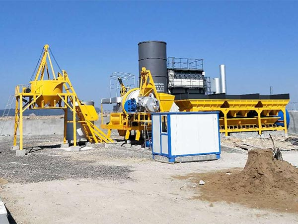Мобильный асфальтовый завод серии ALYJ