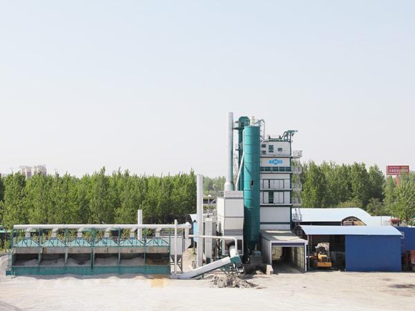 Стационарный асфальтный завод 320 т/ч