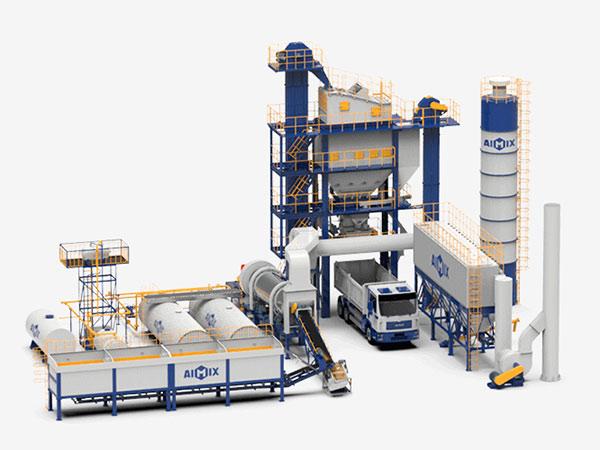 Стационарный асфальтобетонный завод серии ALQ