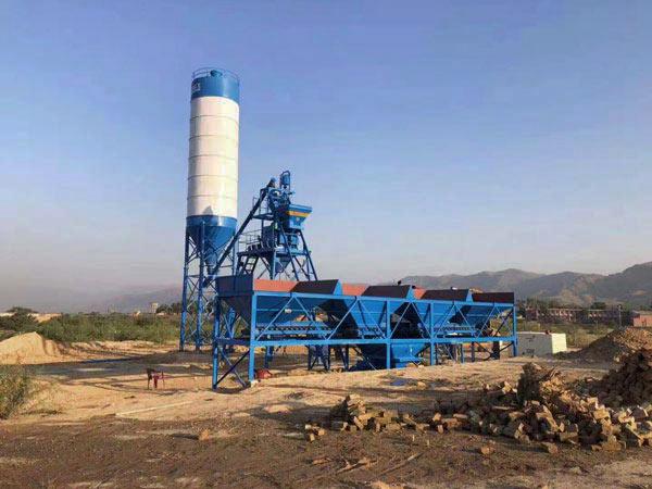Стационарный бетонный завод 25 м3/ч