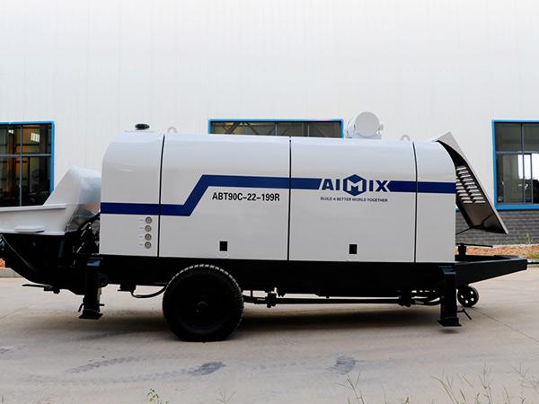 Узбекистан: бетононасос прицепной 90 м3/ч