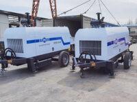 Узбекистан: стационарный бетононасос прицепной 60 м3/ч